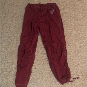 victoria's secret flowy pants